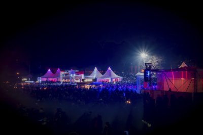 In Timmendorfer Strand werden rund 10.000 Besucher erwartet. Foto: TSNT/Archiv