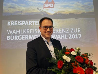 Am Donnerstag wird Jan Lindenau als 229. Lübecker Bürgermeister vereidigt.
