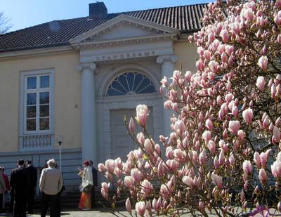 Die Lindesche Villa an der Ratzeburger Allee.