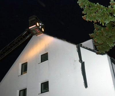 Die Feuerwehr meldete in Lübeck nur wenige kleine Einsätze. Fotos: Stefan Strehlau