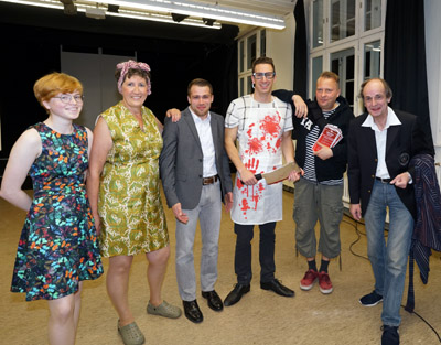Tommy Geisler und sein Team zeigten Ausschnitte aus der neuen Produktion im Johanneum. Fotos: JW