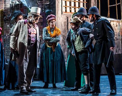 Das aufwändig inszenierte Musical wird noch bis zum 29. Dezember gezeigt. Foto: Olaf Malzahn