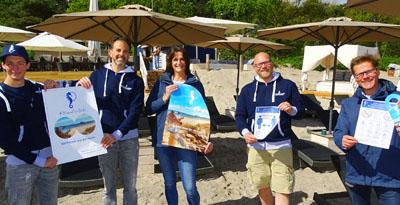 Herzlich Willkommen und haltet abstand - die Lübecker Bucht erwartet die Gäste. Fotos, O-Töne: Harald Denckmann