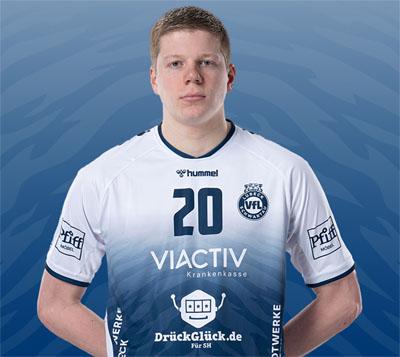 Niels Versteijnen bleibt ein weiteres Jahr in Lübeck. Foto: VfL