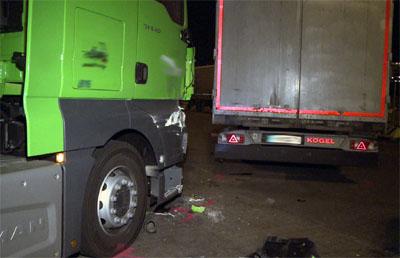 Die Polizei möchte mit den Kontrollen die Zahl der Lkw-Unfälle reduzieren.