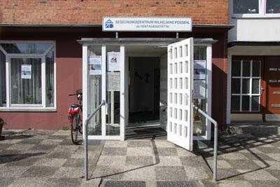 Die Veranstaltung findet in der Begegnungsstätte Wilhelmine Possehl statt.