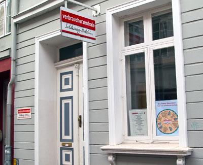 Die Verbraucherzentrale in der Fleischhauerstraße bietet Betroffenen ihre Beratung an.