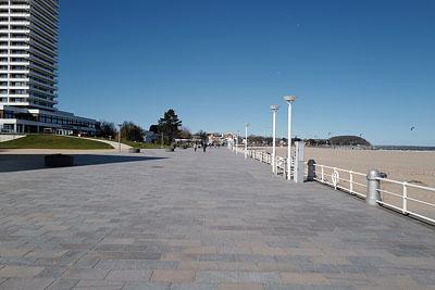 An der Küste blieb es am Samstag sehr ruhig. Fotos: Karl Erhard Vögele