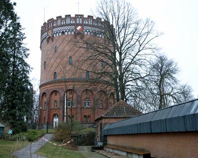 Seit 150 Jahren wird Lübecks Wasser in der Wasserkunst gespeichert. Symbolbild: Archiv/JW