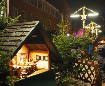 Am Montag wird der Weihnachtsmarkt in Bad Schwartau um 17 Uhr offiziell eröffnet. Foto: Stadtmarketing