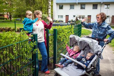 Die Hilfe für junge Eltern ist wieder gestartet. Foto: Christoph Niemann/wellcome