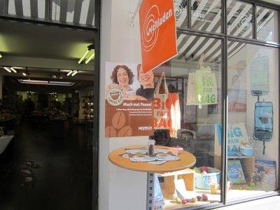 Der Weltladen befindet sich in der Hüxstraße 83-85.