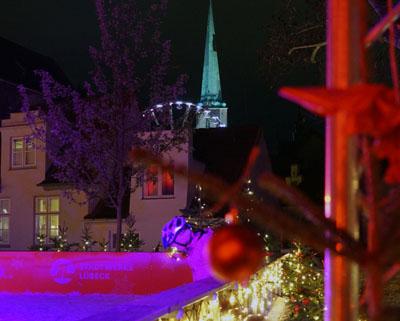 Am Montag wurde der Weihnachtsmarkt eröffnet. Fotos: JW, O-Ton