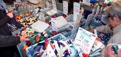 Auf dem Markt geht es am Sonntag rund um das Nähen. Foto: Veranstalter
