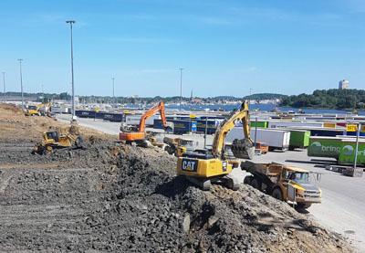 Baufirmen Lübeck 1 4 millionen kubikmeter erde werden verlegt hl live de lübeck