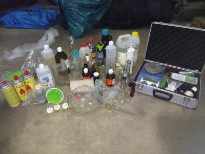 Herstellung Amphetamin