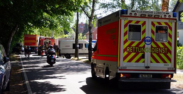 Baufirmen Lübeck wasserstoffperoxid ausgelaufen eine person verletzt hl live de lübeck