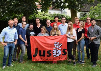 Die Lübecker Jusos planen unter anderem eine Schülergruppe. Foto: Jusos