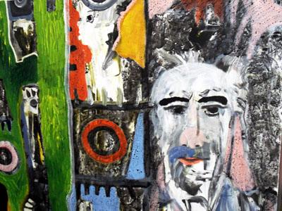 Die Werke von Matthias Klingbeil sind bis Ende M rz im Haus des L  - klingbeil030115